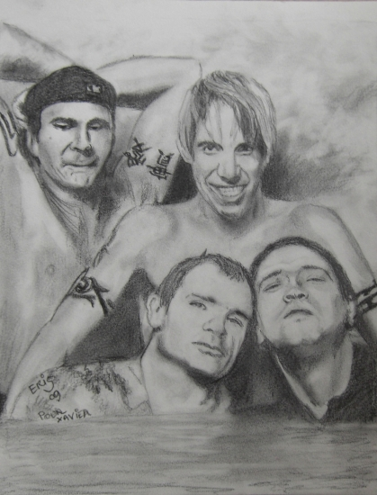 Red Hot Chili Peppers par rikou